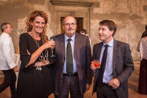 Alessandra Moscianese, Roberto Marzetti ed Ermanno de Pompeis