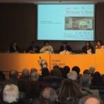 L'Auditorium L. Petruzzi affollato per la presentazione della Mostra